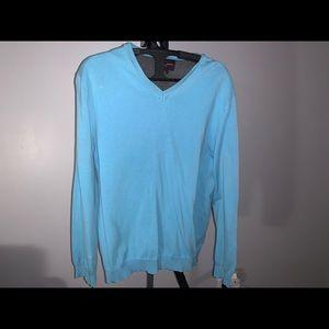 Black Brown: Sky Blue Sweater